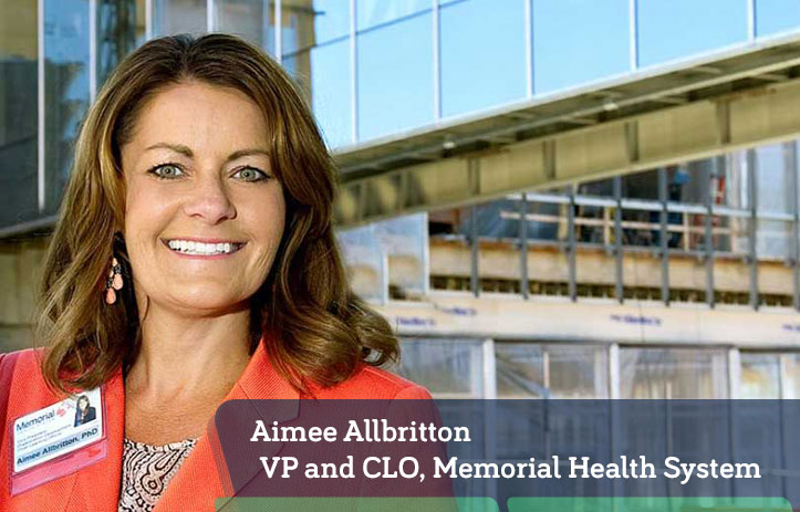 Aimee Allbritton, VP and CLO, Memorial Health System