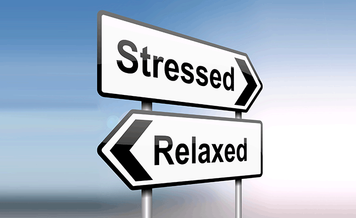 Stress vs Relaxed