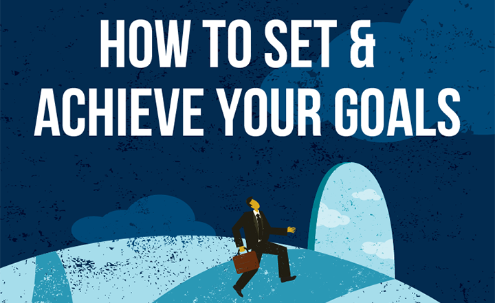 WorkBoard Infographic: How to Set and Achieve Your Goals