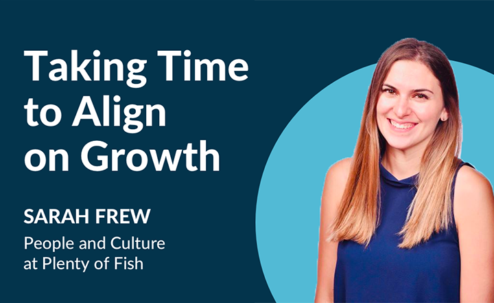 Blog Post: Taking Time to Align on Growth