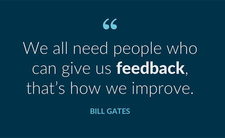 Blog Post: Be Fearless About Feedback
