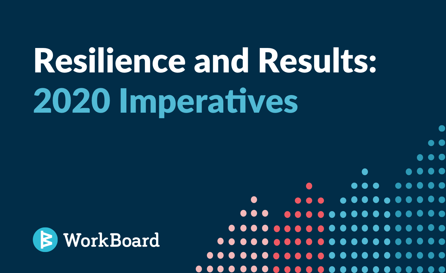Blog Post: Resilience and Results: 2020 Imperatives