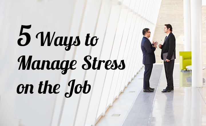 Workboard Slideshow: 5 Ways to Manage Stress