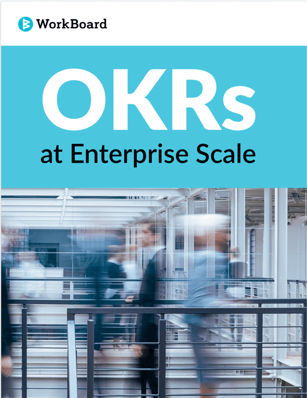 OKRs at Enterprise Scale