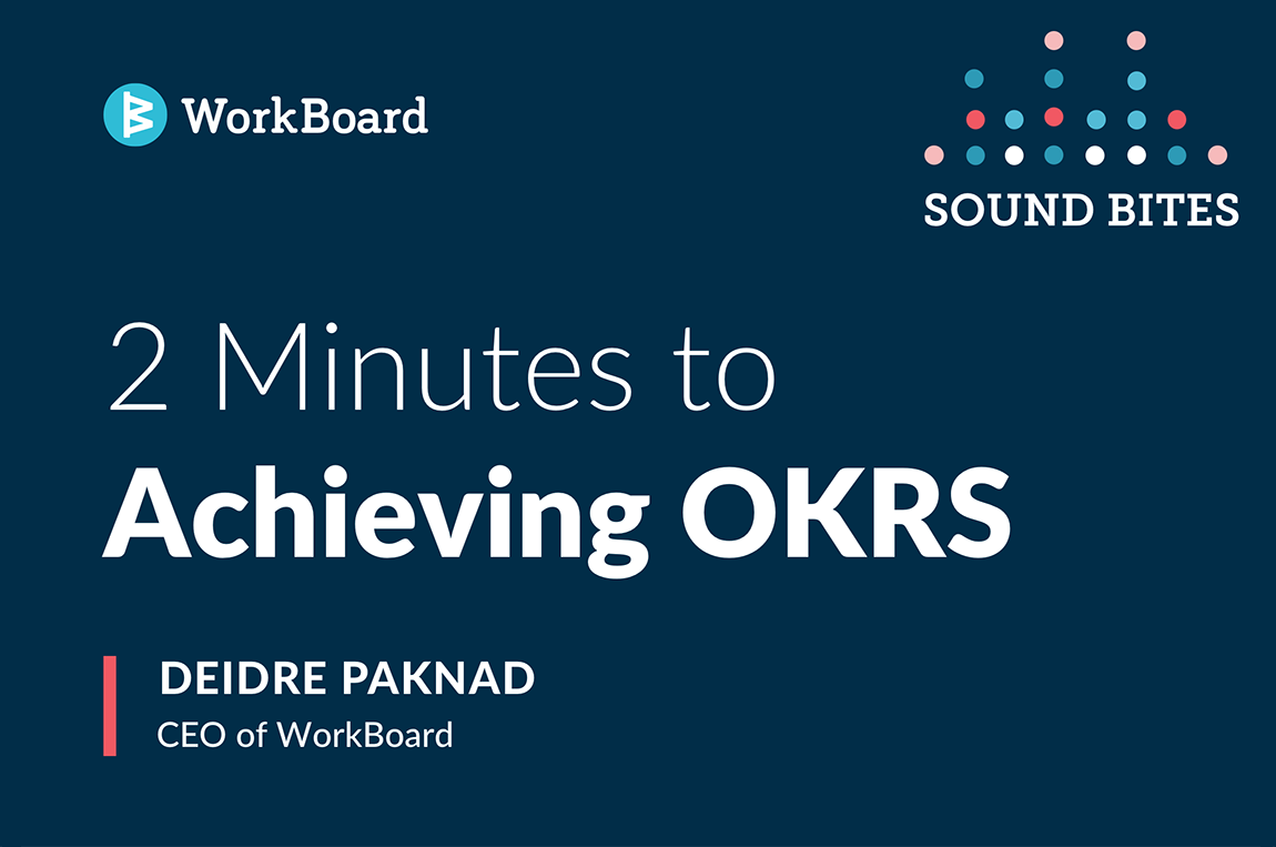 Achieving OKRs