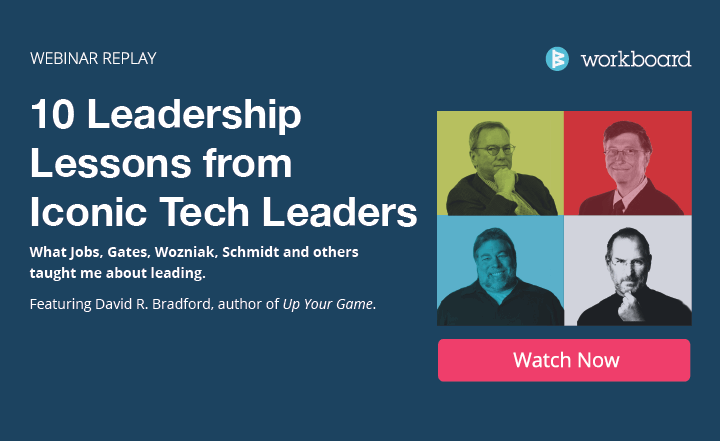 Workboard Webinar Recording: 10 Leadership Lessons from Iconic Tech Leaders