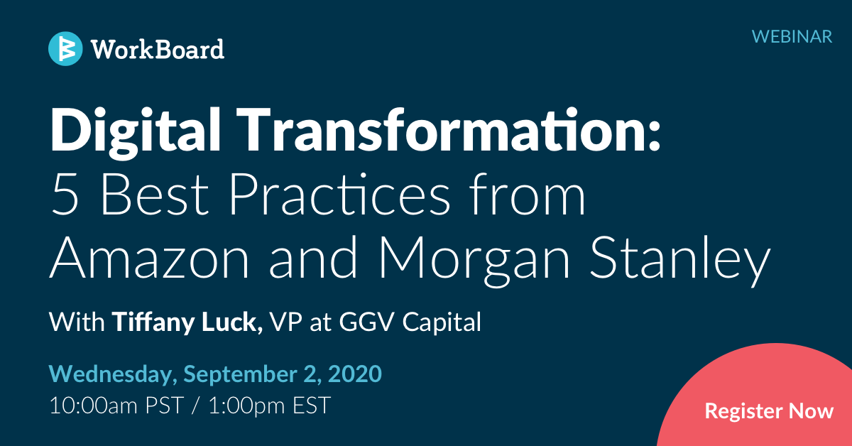 Digital Transformation: 5 Best Practices from Amazon and Morgan Stanley