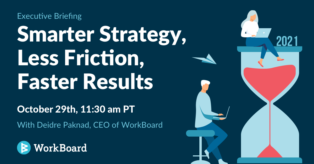 Executive Briefing: Smarter Strategy, Less Friction, Faster Results